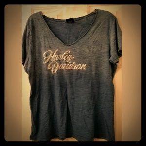⭐ Ladies Harley-Davidson T-shirt, 1X